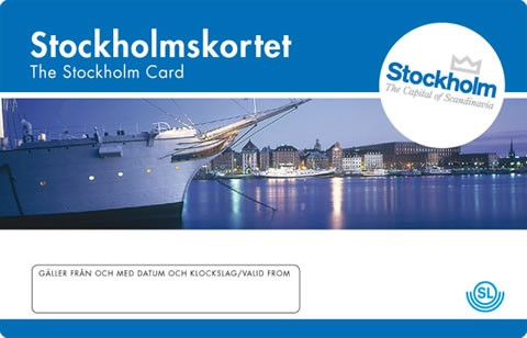 sl tourist card stockholm